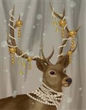 Deer with Gold Bells