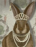 Rabbit and Pearls, Portrait