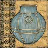 Square Cerulean Pottery I
