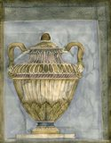 Small Urn And Damask III