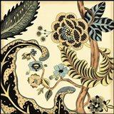 Small Jacobean Tile I (P)