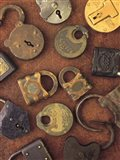 Antique Lock Collage