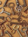 Antique Key Collage