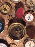 Antique Compass Collage