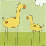 Stick-Leg Giraffe I
