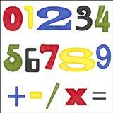 Kid's Room Numbers