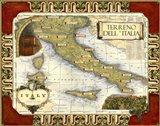 Medium Wine Map (H) I