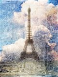Distressed Eiffel Tower