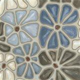Tiled Petals I