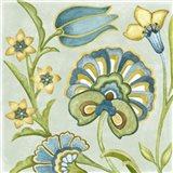 Decorative Golden Bloom II