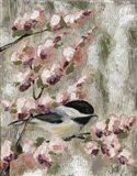 Cherry Blossom Bird I
