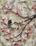 Cherry Blossom Bird II