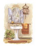 Watercolor Bath in Spice I