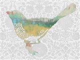 Patterned Bird I