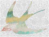 Patterned Bird IV
