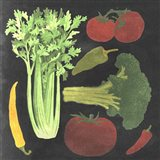 Blackboard Veggies III