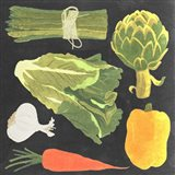 Blackboard Veggies IV