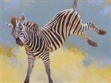 Bucking Zebra
