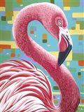 Fabulous Flamingos I