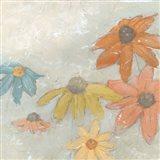 Floral Fresco I