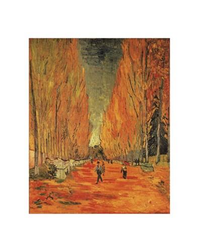 Alle des Alleycamps Poster by Vincent Van Gogh for $36.25 CAD