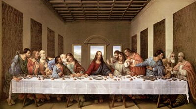 The Last Supper Poster by Leonardo Da Vinci for $98.75 CAD