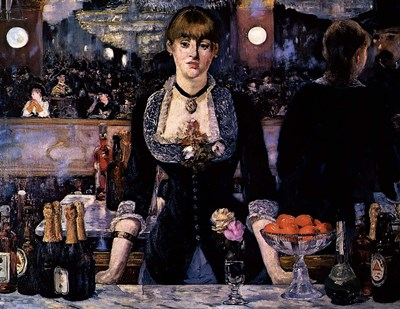 A Bar at the Folies-Bergere Poster by Edouard Manet for $77.50 CAD