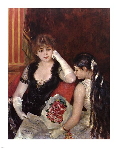 At the Concert Poster by Pierre-Auguste Renoir for $81.25 CAD