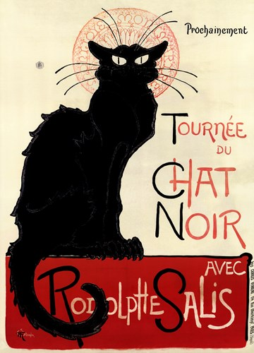 Tournee du Chat Noir Poster by Theophile-Alexandre Steinlen for $107.50 CAD