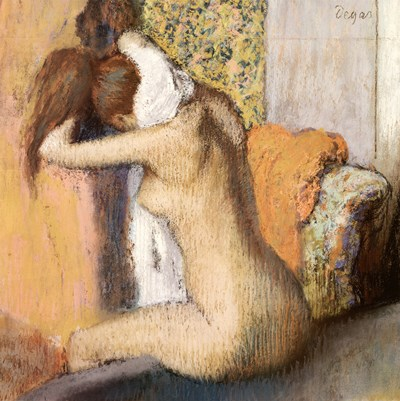 After the Bath Poster by Edgar Degas for $63.75 CAD