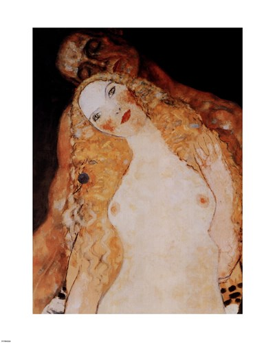 Adam and Eve, c.1917 (detail) Poster by Gustav Klimt for $56.25 CAD