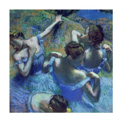 Blue Dancers, c.1899 Poster by Edgar Degas for $35.00 CAD