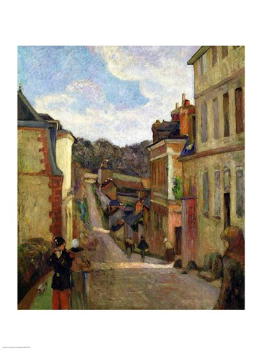 A Suburban Street, 1884 Poster by Paul Gauguin for $32.50 CAD