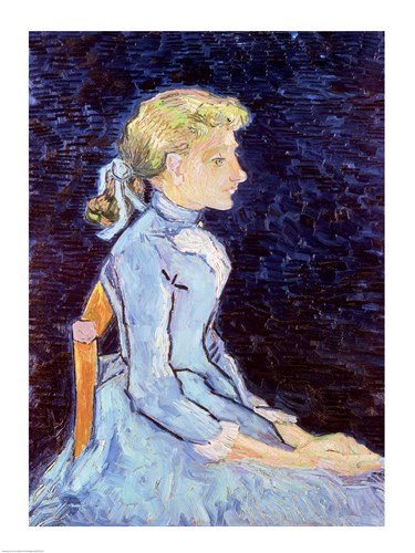 Adeline Ravoux, 1890 Poster by Vincent Van Gogh for $32.50 CAD