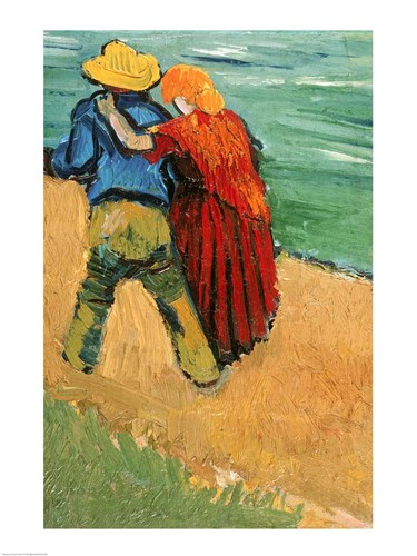 A Pair of Lovers, Arles, 1888 Poster by Vincent Van Gogh for $32.50 CAD
