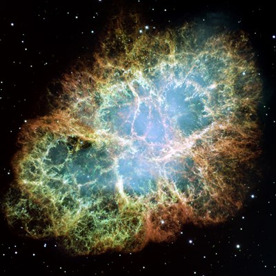 A Giant Hubble Mosaic of the Crab Nebula Poster by NASA, ESA, STScl for $63.75 CAD
