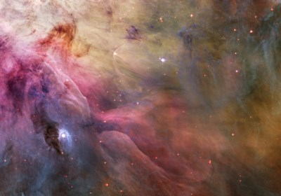 Abstract Art Found in the Orion Nebula Poster by NASA, ESA, STScl for $78.75 CAD