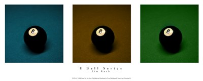 8 Ball Series Poster by Jim Rush for $37.50 CAD