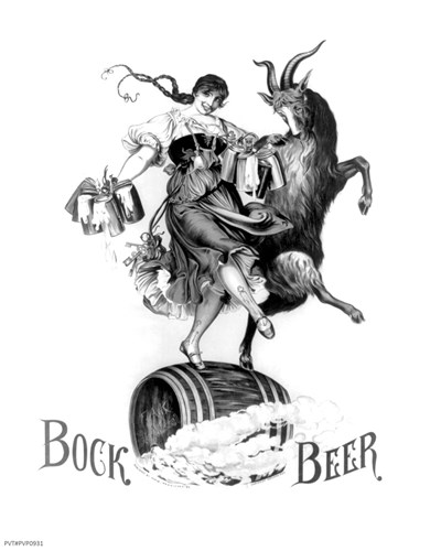 Bock Beer Dance Poster by Unknown for $65.00 CAD