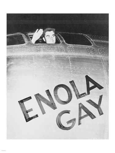 Tibbets Enola Gay Poster by Unknown for $67.50 CAD