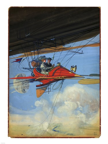 Aerostatic Cabrio, H.G. Dart Poster by Unknown for $67.50 CAD