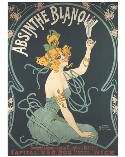 Absinthe Blanqui Poster by Unknown for $68.75 CAD