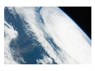 2011 Hurricane Katia off the Northeastern US from space Poster by Unknown for $67.50 CAD