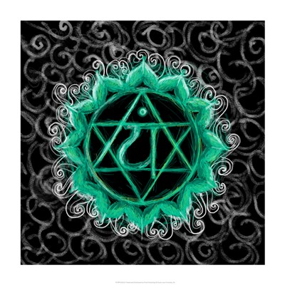 Anahata - Heart Chakra, Flawless Poster by Veruca Salt for $41.25 CAD