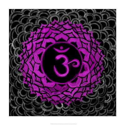 Sahasrara - Crown Chakra, Thousandfold Poster by Veruca Salt for $41.25 CAD