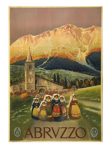 Abruzzo Poster by Unknown for $67.50 CAD