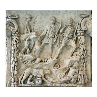 Altar of Mars and Venus - Aphrodite and Ares Poster by Unknown for $56.25 CAD