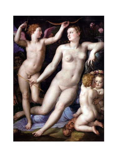 Angelo Bronzino - Venus, Cupid and Envy Poster by Unknown for $28.75 CAD
