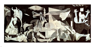 Guernica Poster by Pablo Picasso for $97.50 CAD