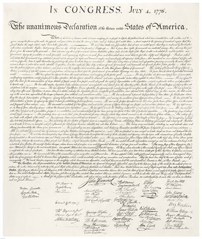 Declaration of Independence Poster by Unknown for $102.50 CAD